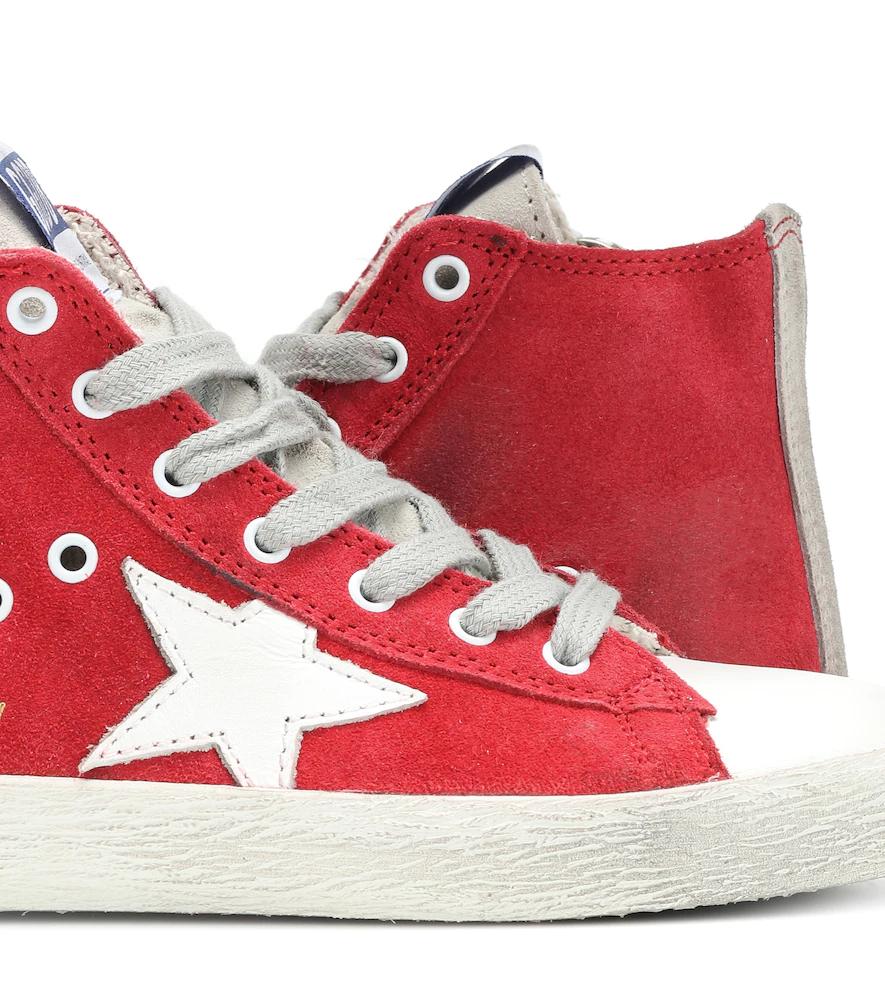 Golden Goose Deluxe Brand | Francy high-top suede sneakers | Clouty