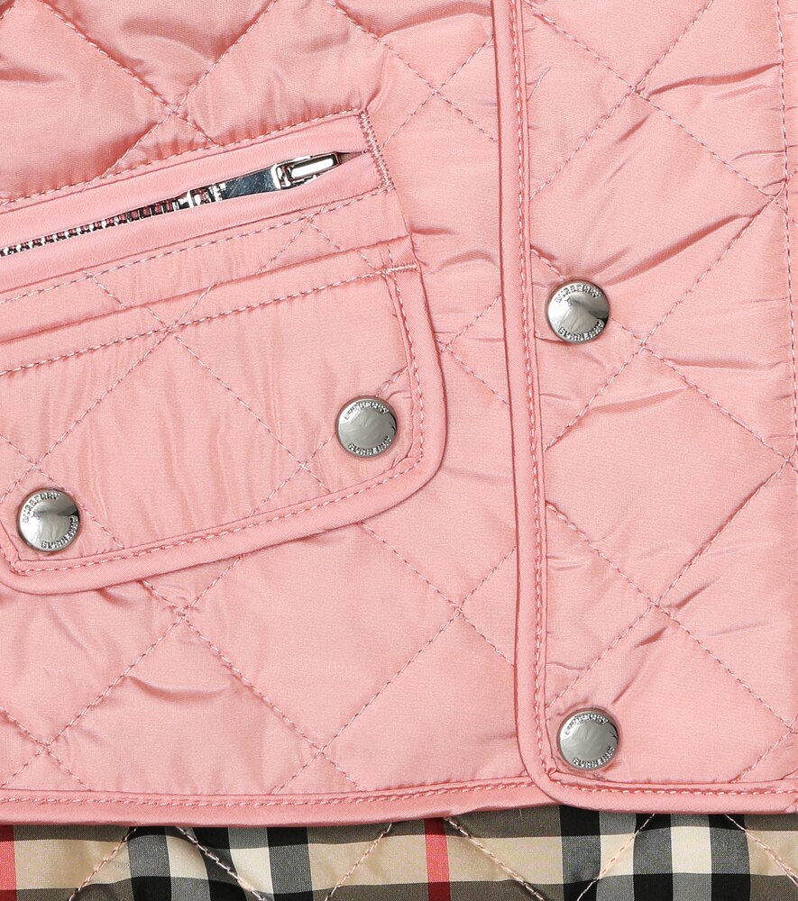 Burberry Kids | Baby Lucca quilted jacket | Clouty