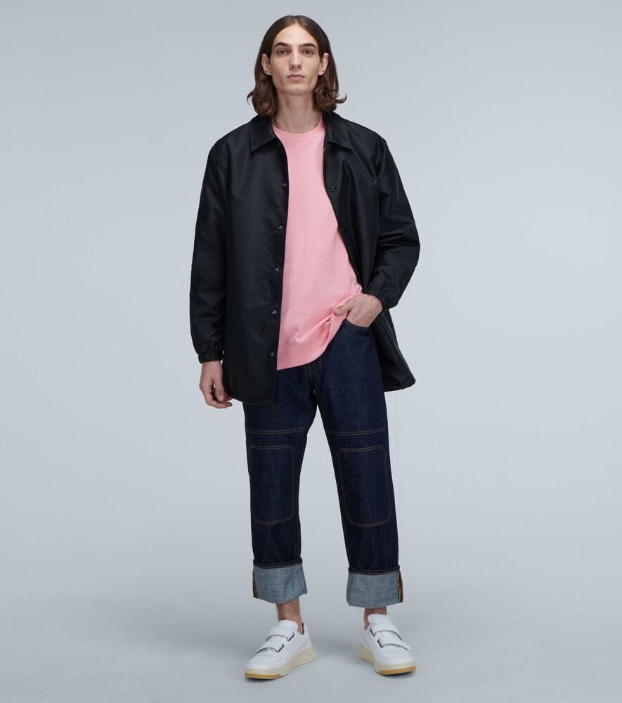 Acne Studios | Oscoda face-print coach jacket | Clouty