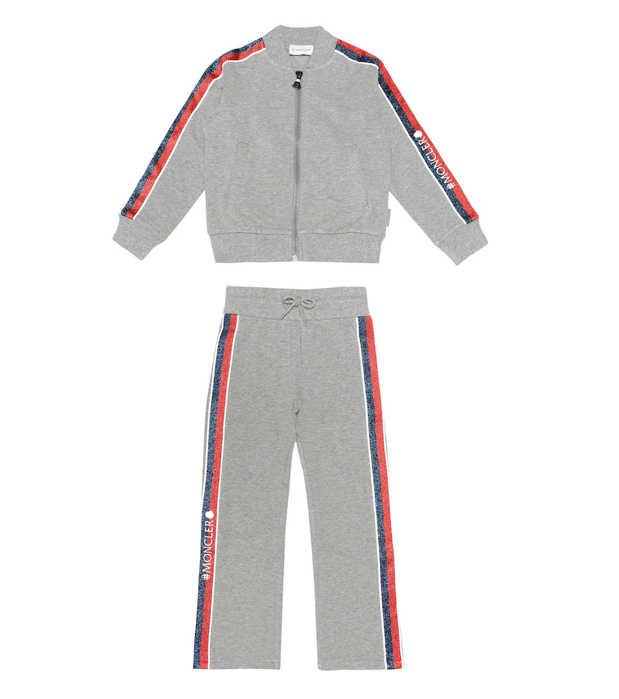 Moncler Enfant | Logo stretch-cotton tracksuit | Clouty