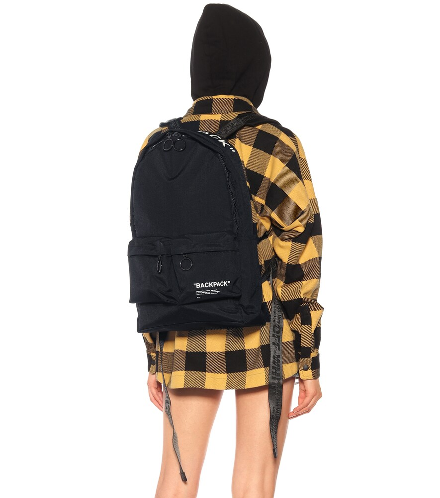 Off-White | Printed canvas backpack | Clouty
