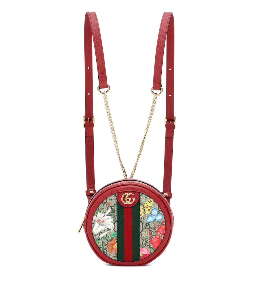 GUCCI | Ophidia GG Flora backpack | Clouty