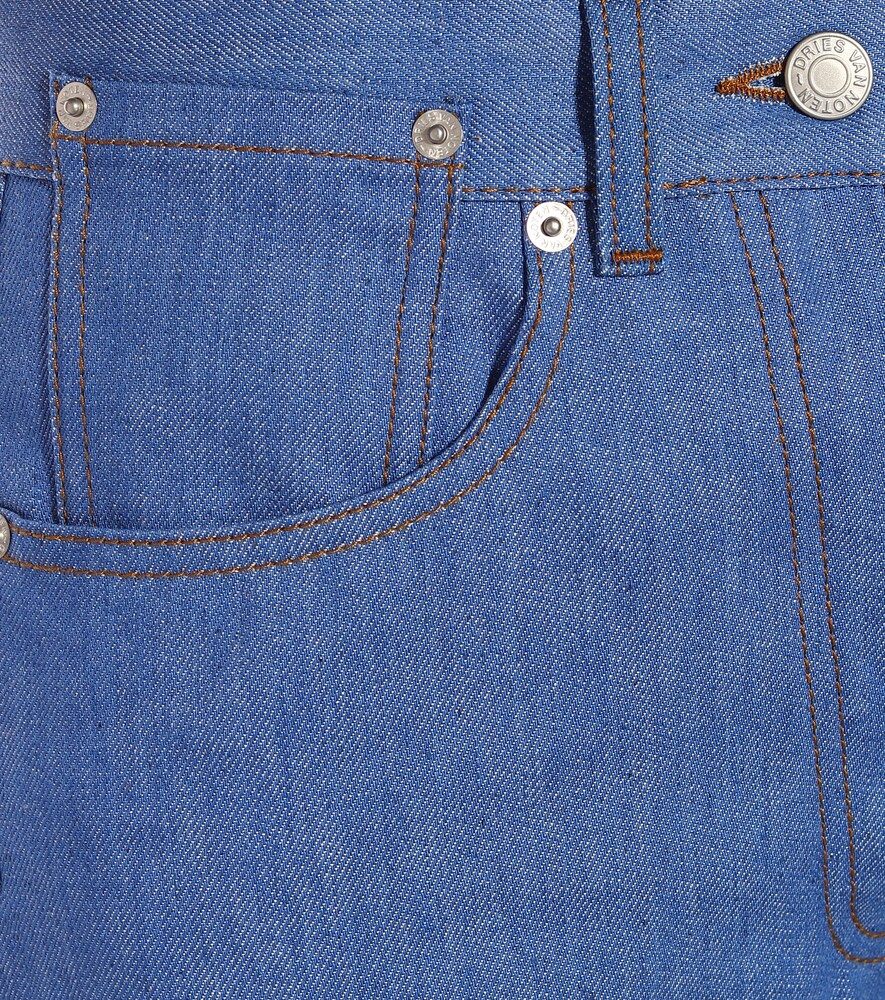 Dries Van Noten | High-rise straight jeans | Clouty