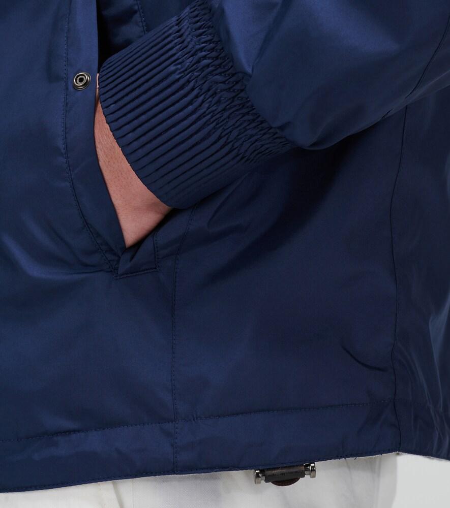 Ermenegildo Zegna   Breeze Breaker reversible jacket   Clouty