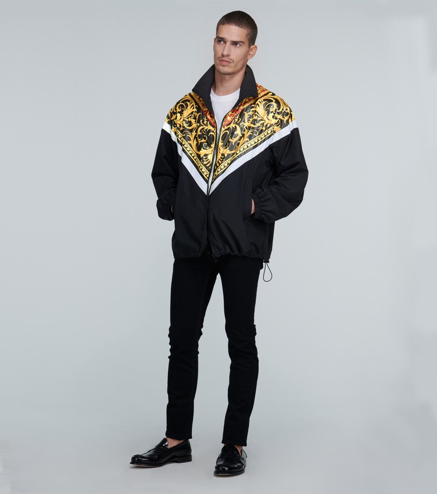 Versace | Le Pop Classique printed lightweight jacket | Clouty