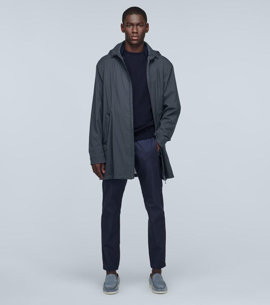 Loro Piana | Wool-blend long jacket | Clouty