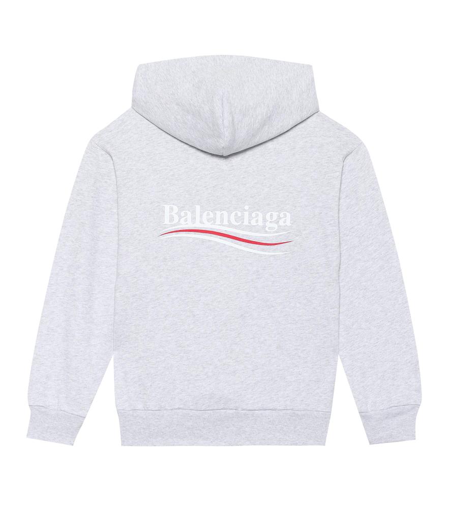 Balenciaga | Cotton-blend hoodie | Clouty