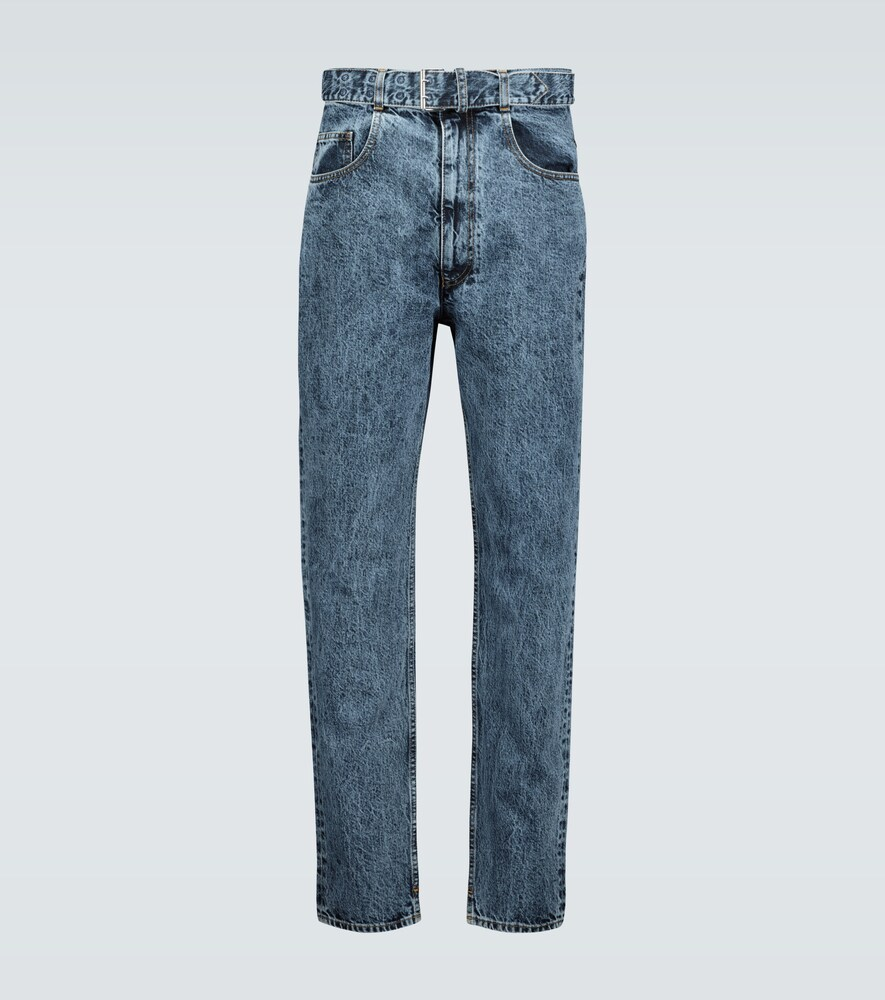 Maison Margiela | Belted relaxed-fit jeans | Clouty