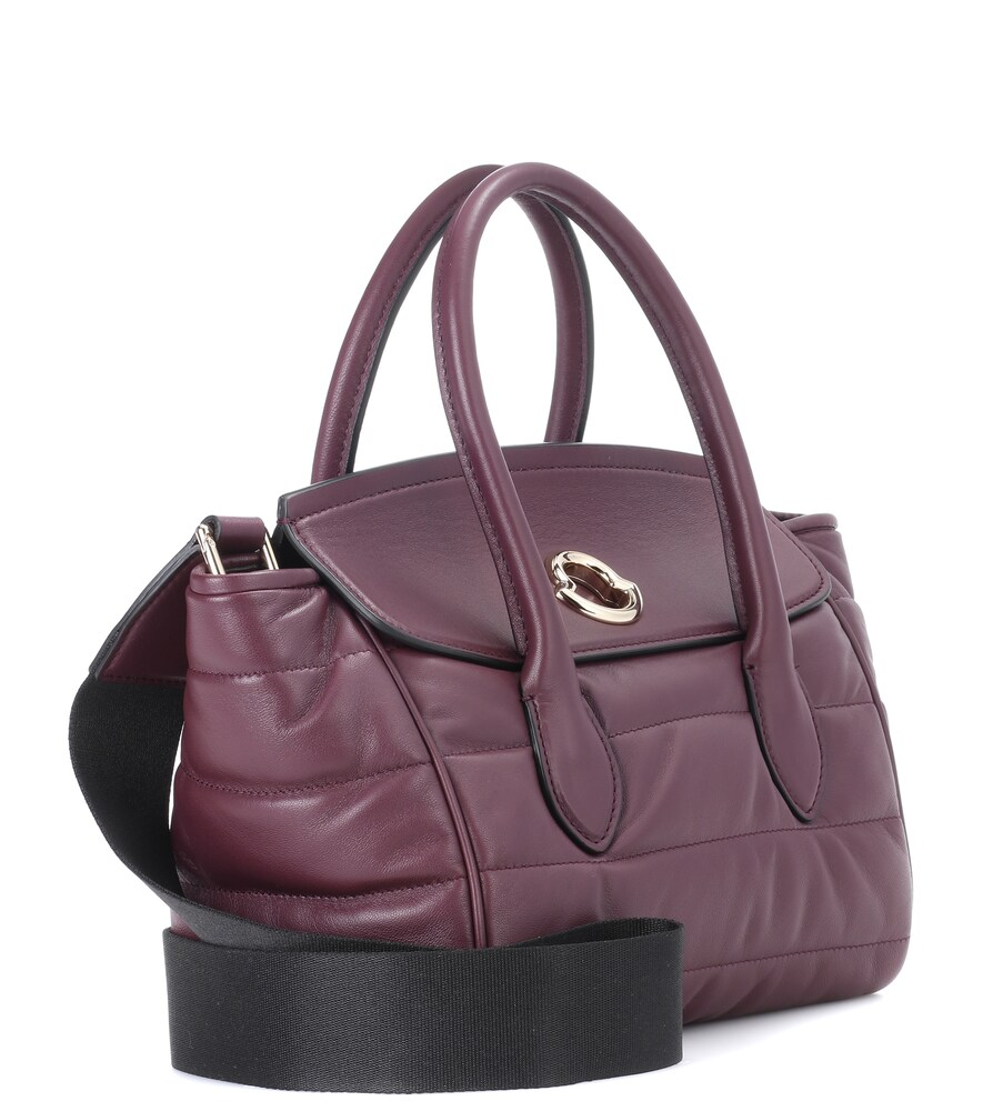 MONCLER   Evera leather tote bag   Clouty