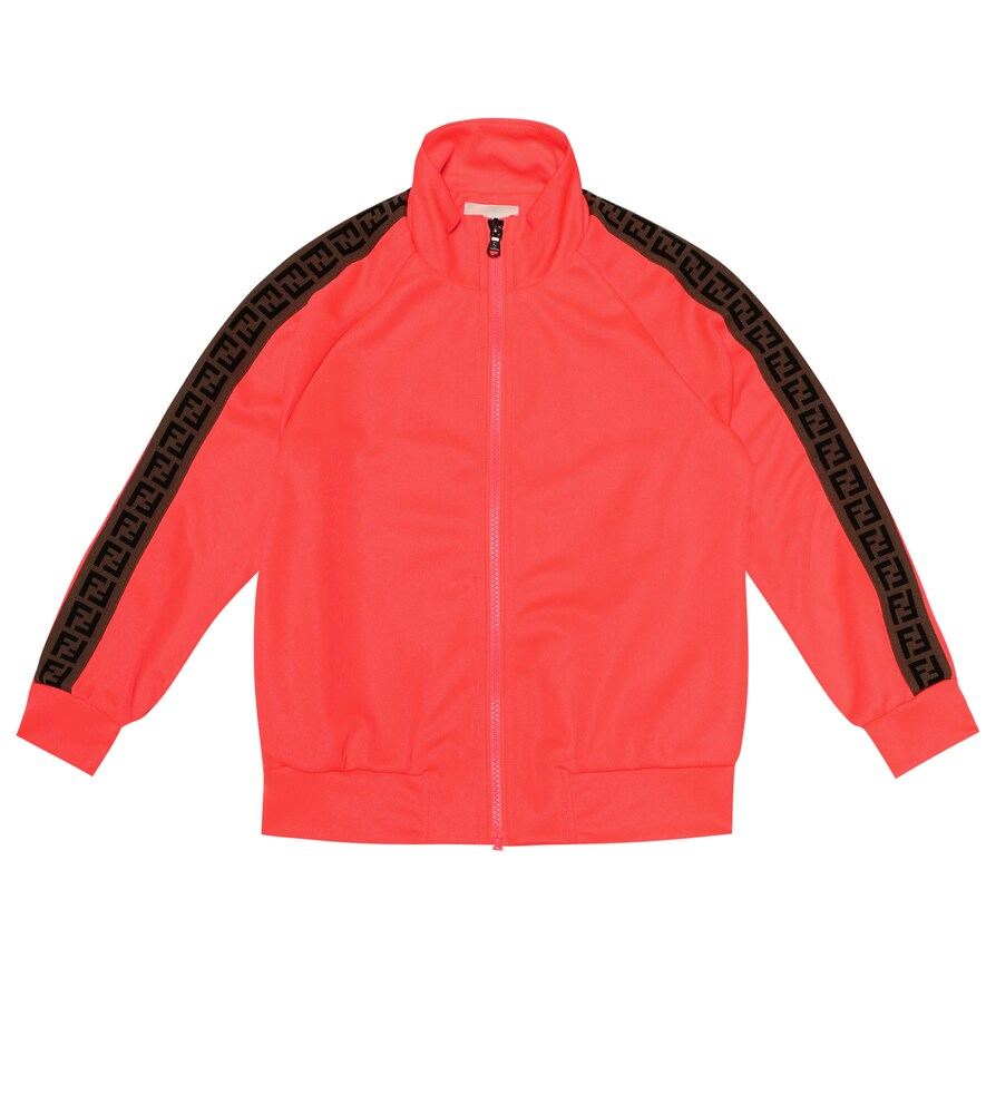 Fendi Children | Stretch-jersey track jacket | Clouty