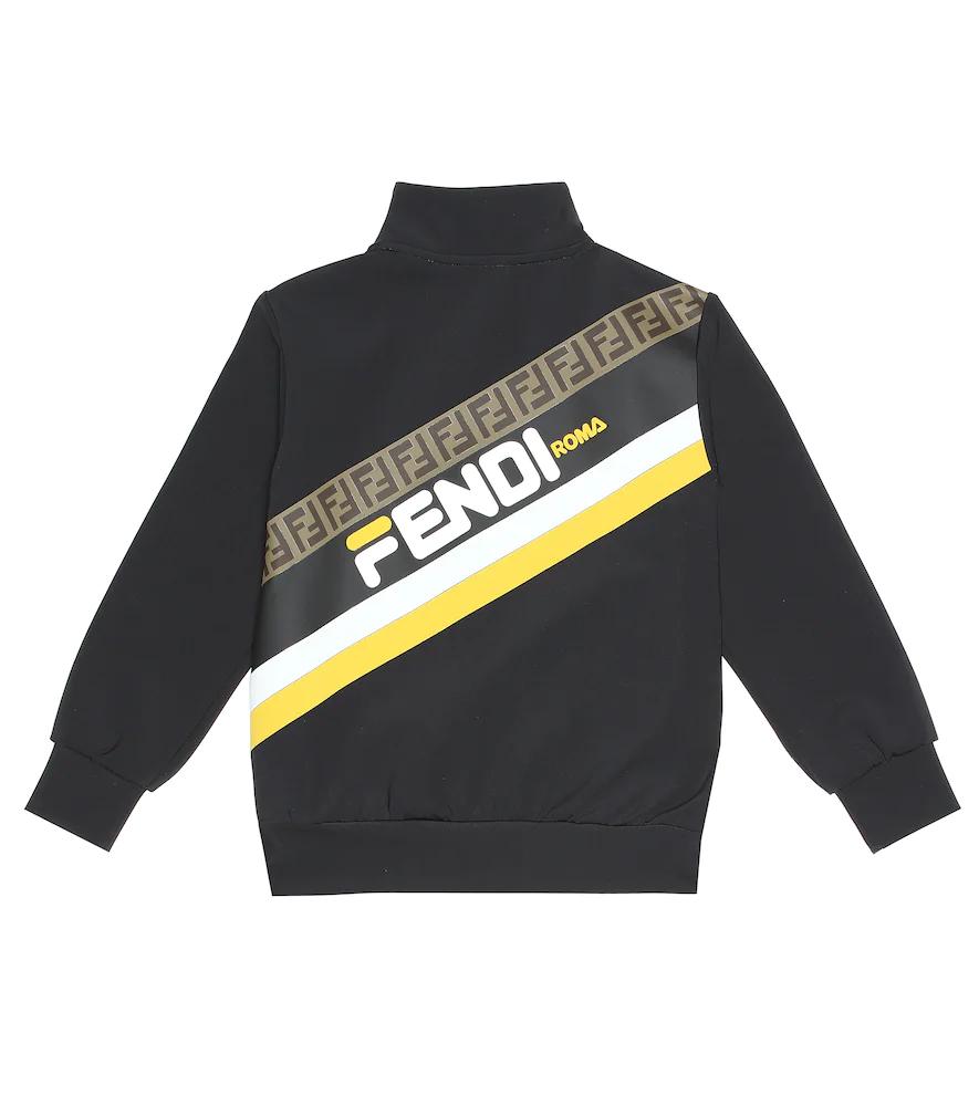 Fendi Children   FENDI MANIA track jacket   Clouty
