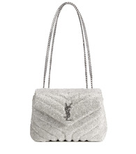 Фото Loulou Small crystal shoulder bag