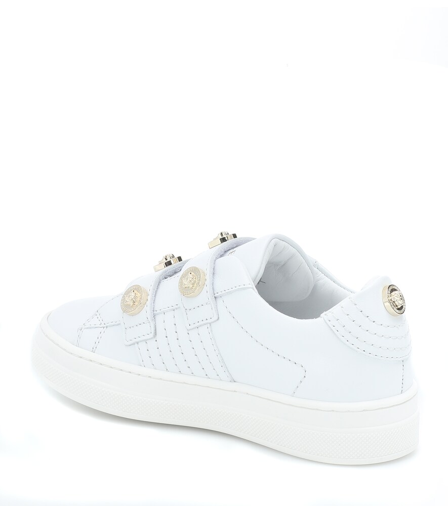 Versace Kids | Medusa stud leather sneakers | Clouty