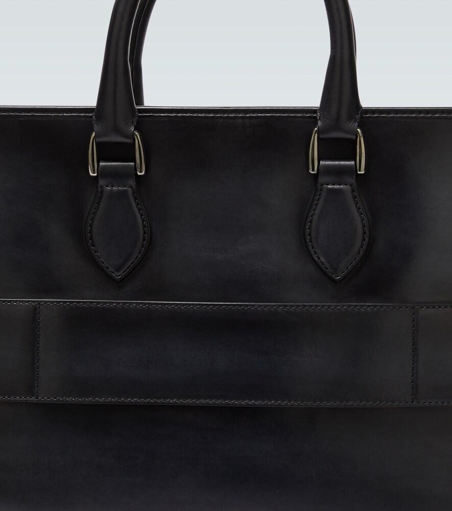 Berluti   Un Jour leather briefcase   Clouty