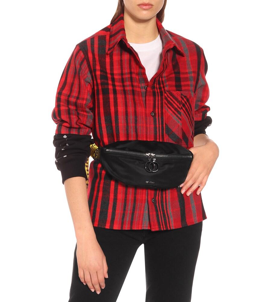 Off-White | Canvas belt bag | Clouty