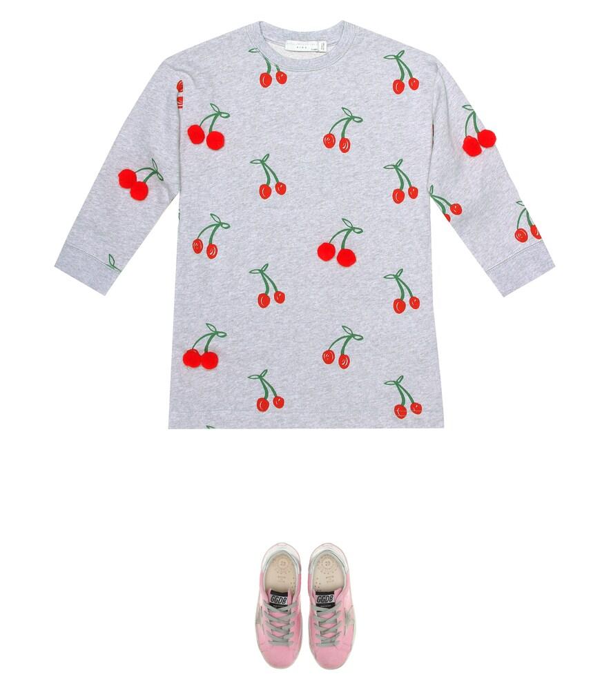 Stella McCartney Kids   Embellished cotton top   Clouty