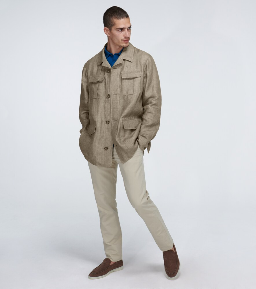 Loro Piana | Linen Eastwood jacket | Clouty