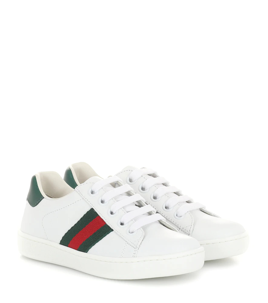 Gucci Kids | Ace leather sneakers | Clouty