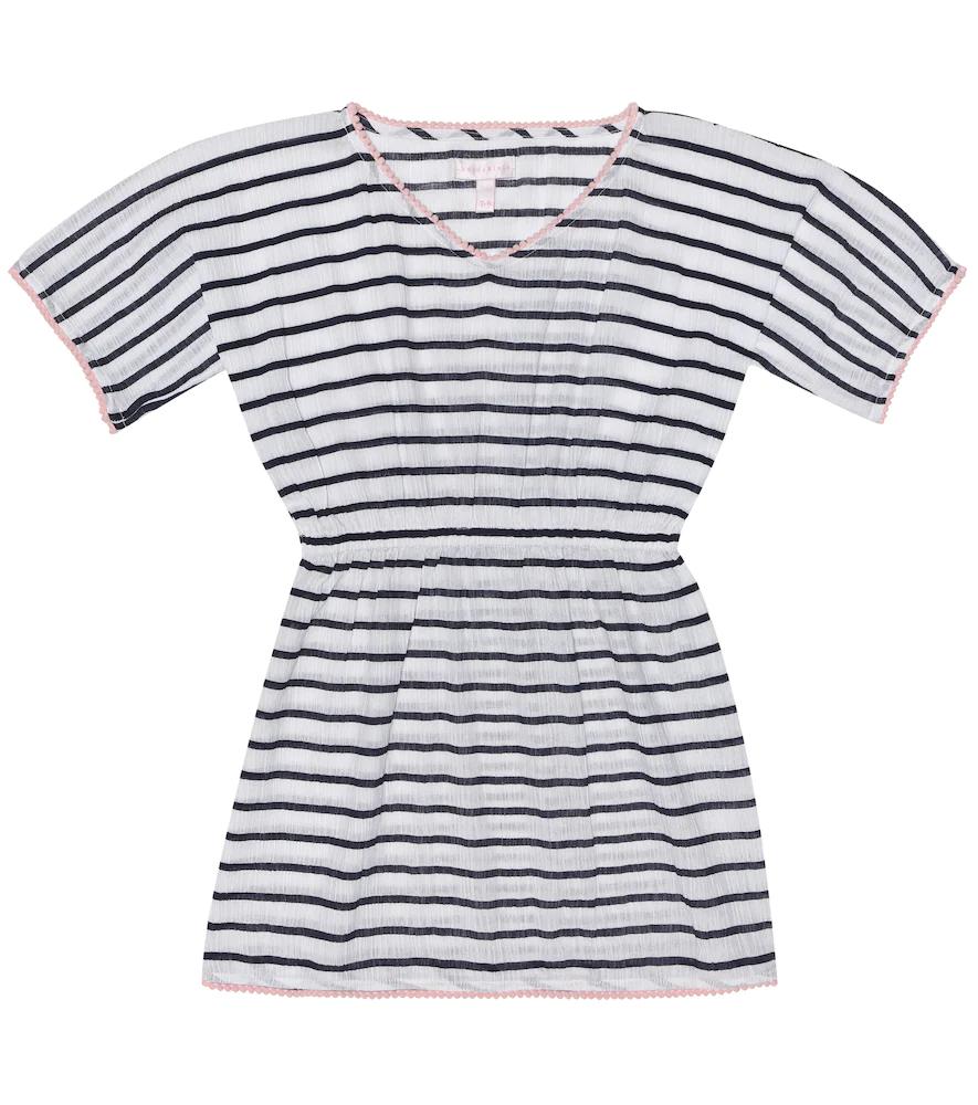 Heidi Klein Kids | Striped cotton kaftan | Clouty