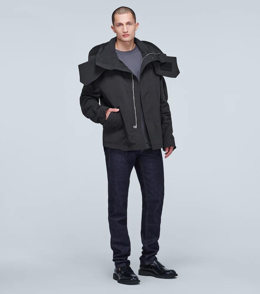 Bottega Veneta   Jacket with oversized hood   Clouty