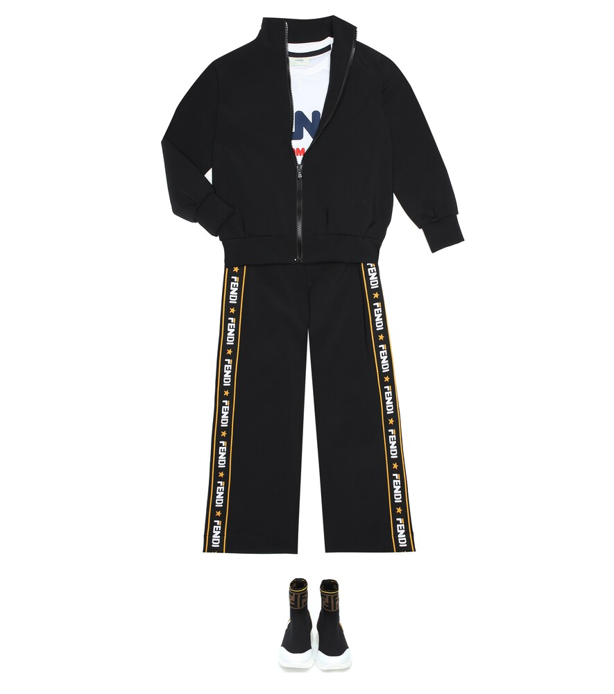 Fendi Children | FENDI MANIA track jacket | Clouty