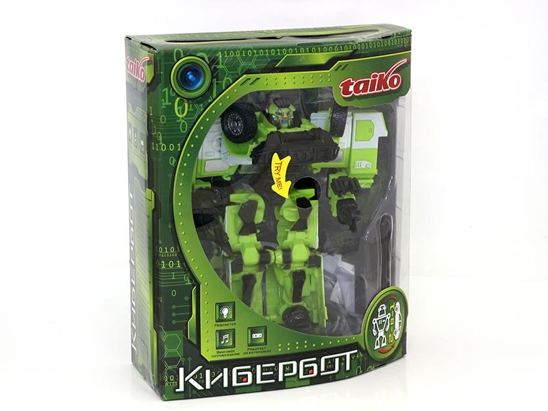 Taiko | Игрушка Taiko Робот-машина, со звуком и светом | Clouty