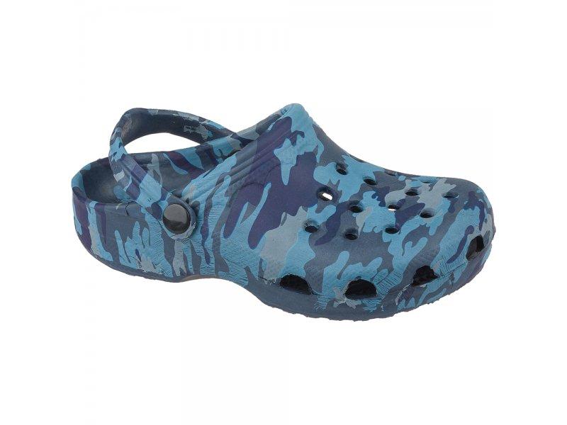 Mursu | Туфли Mursu открытые для мальчика синий, р.35 | Clouty