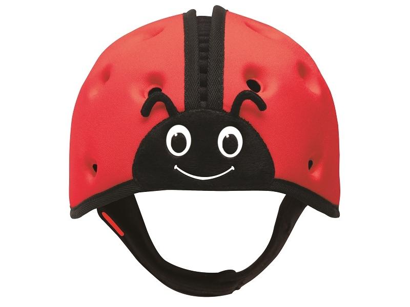 Safehead   Шапка-шлем Safehead Baby мягкая для защиты головы, Божья коровка красный   Clouty