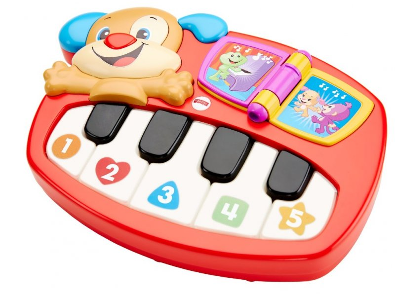 Fisher Price | Игрушка Fisher Price Смейся и учись Пианино-щенок | Clouty