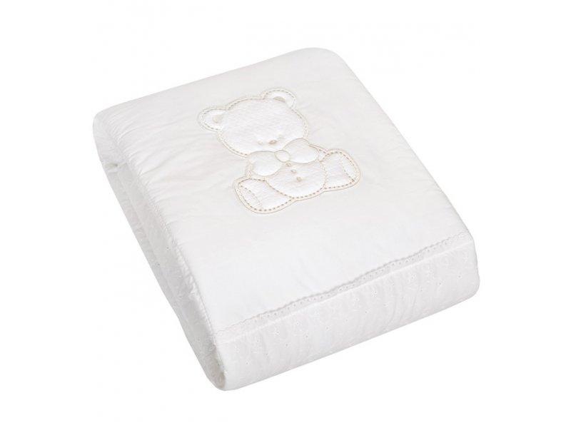 Italbaby | Одеяло Italbaby, Amore игровое белый | Clouty