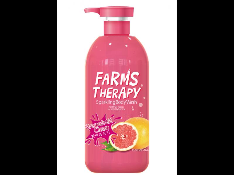 Farms Therapy | Гель Farms Therapy для душа, Грейпфрут, 700 мл | Clouty
