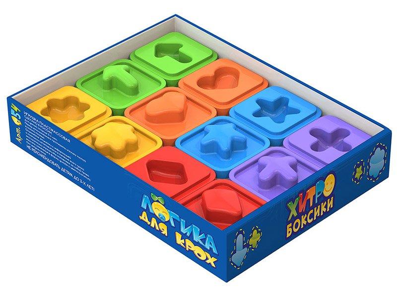 Нордпласт   Игра настольная Нордпласт, Логика для крох: хитробоксики (мини-бокс) мультицвет   Clouty