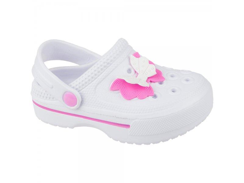 Mursu | Туфли Mursu для девочки, открытые белый, р.25 | Clouty