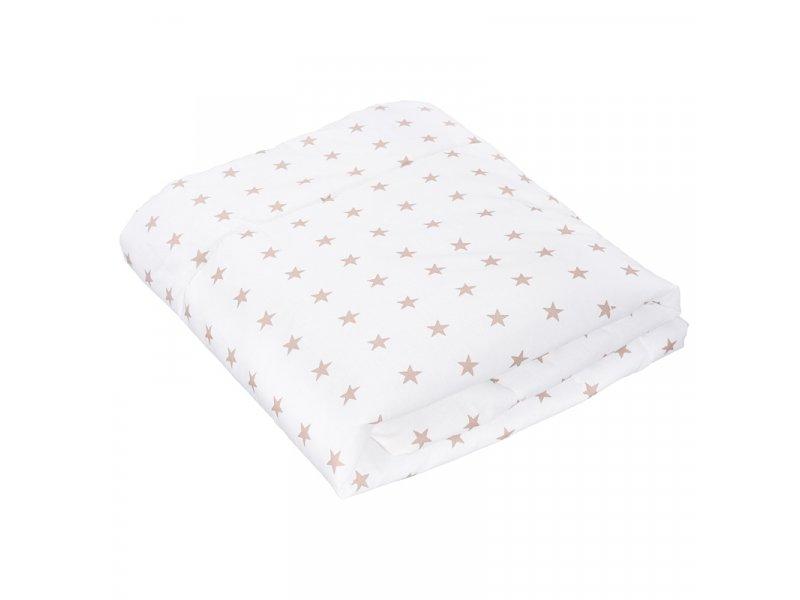Sweet Baby | Одеяло Sweet Baby тонкое, 110*140 см белый с рисунком | Clouty