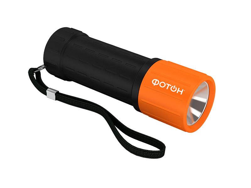 Фотон | Фонарь Фотон светодиодный MR-800 оранжевый | Clouty