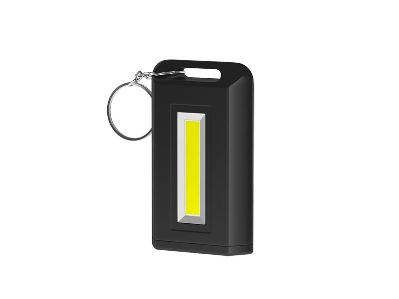 Фотон | Фонарь-брелок Фотон светодиодный K-150 (2xLR03 в комплекте) черный | Clouty