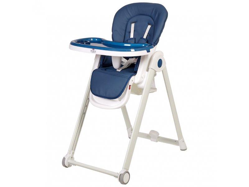 Polini | Стульчик для кормления Polini kids 440 синий | Clouty