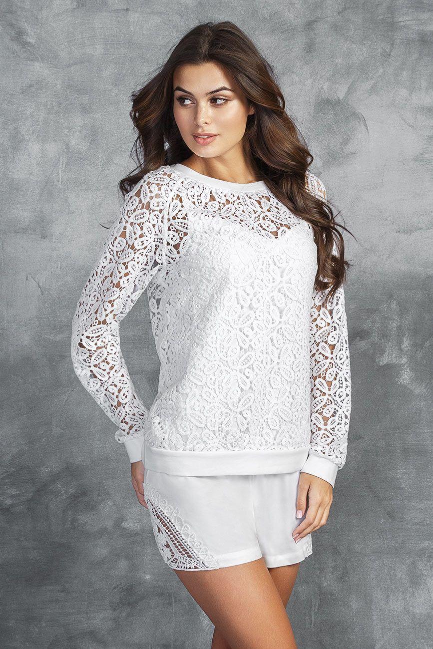 Incanto | Шорты White lace (bianco, 1) | Clouty