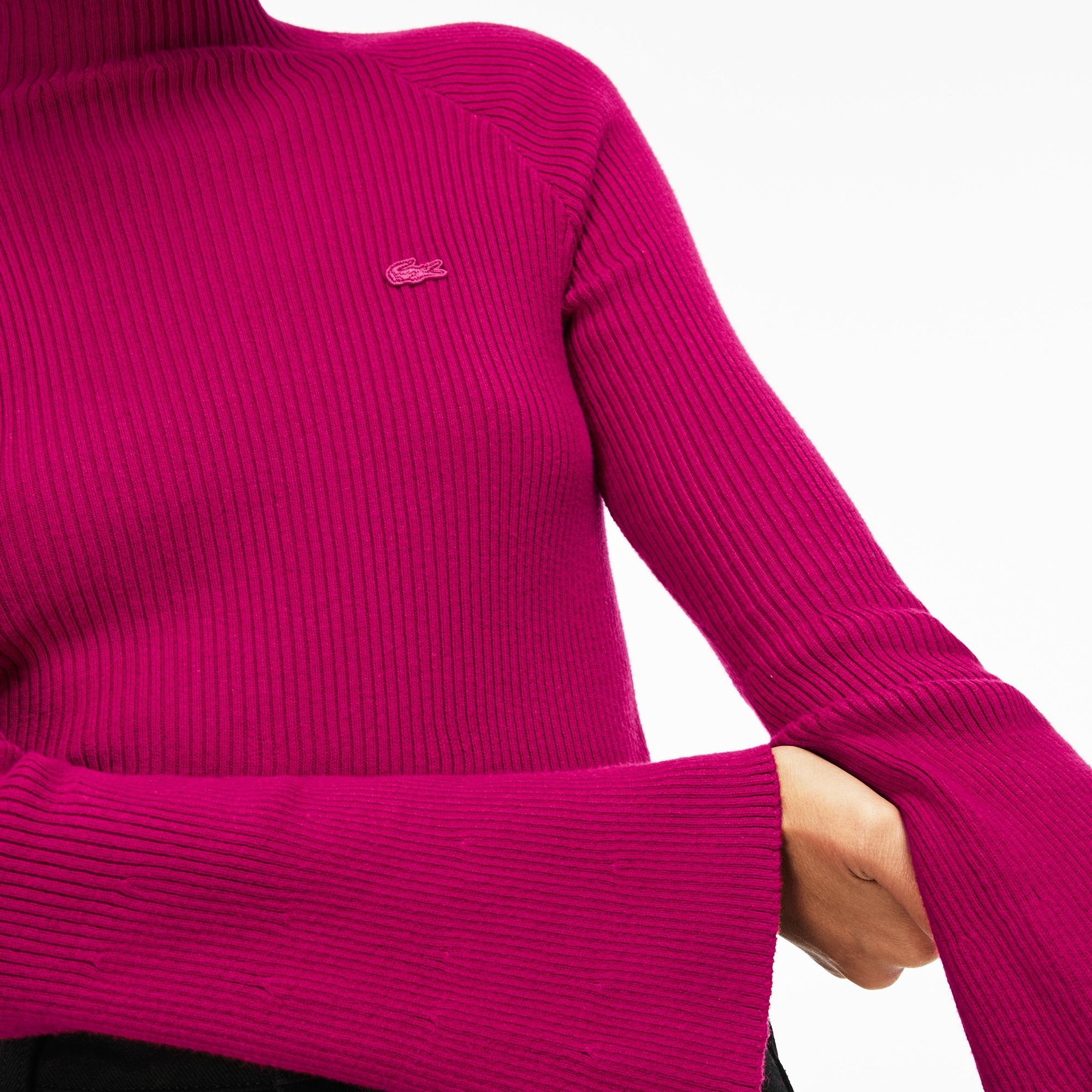 Lacoste | розовый Свитер Lacoste | Clouty