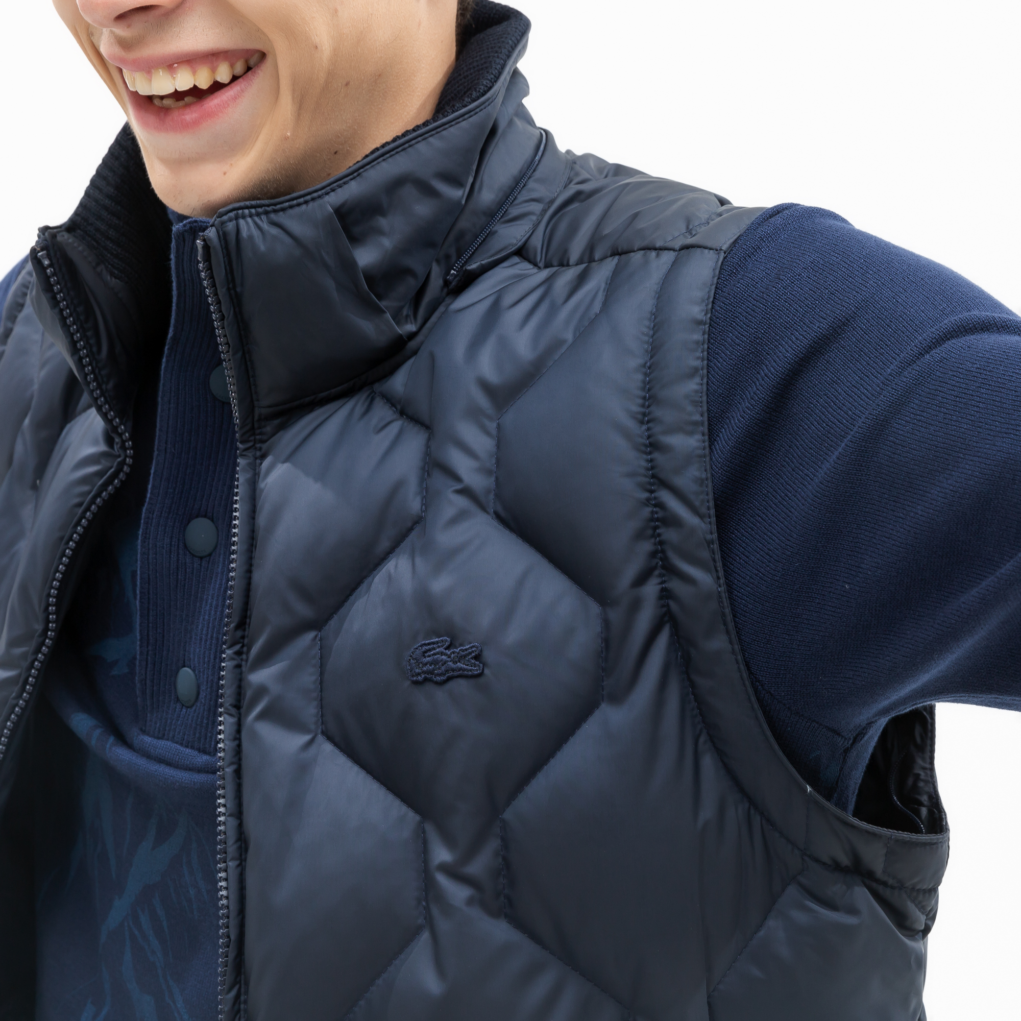 Lacoste | синий Куртка Lacoste | Clouty