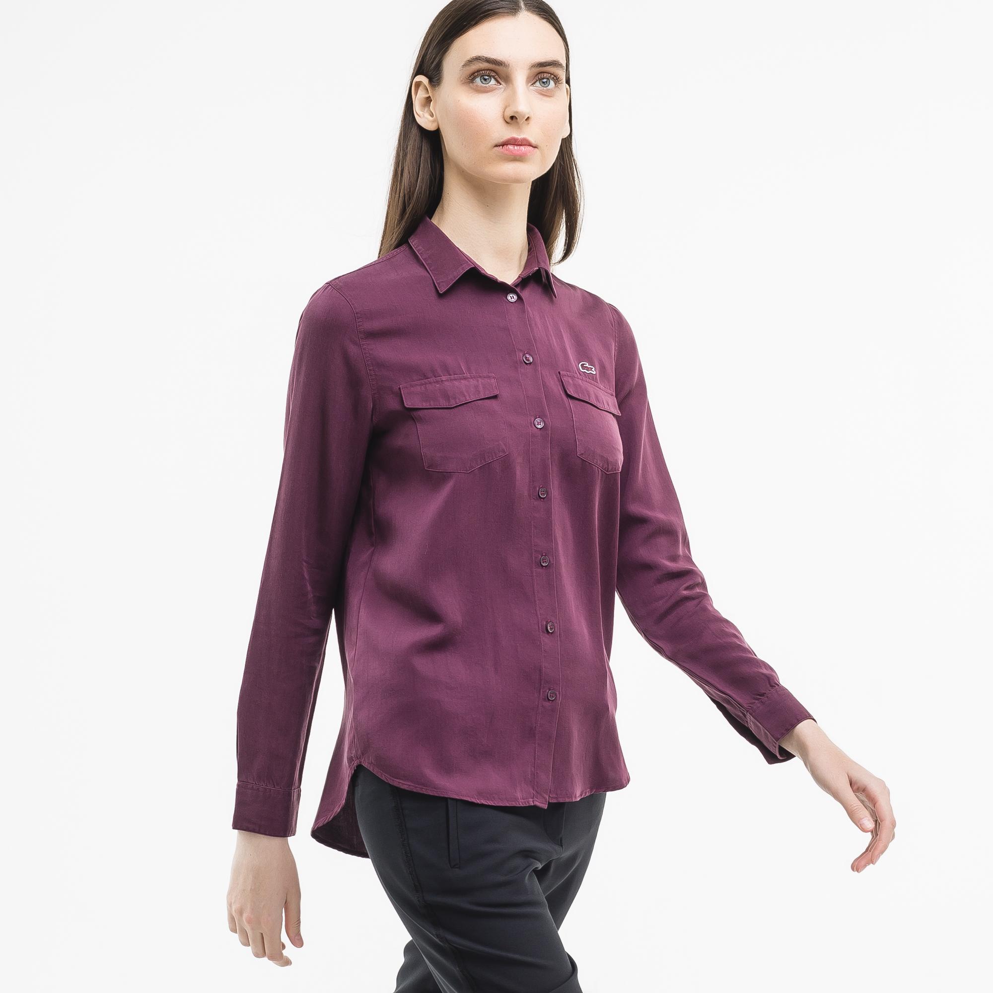 Lacoste | фиолетовый Рубашка Lacoste Regular fit | Clouty