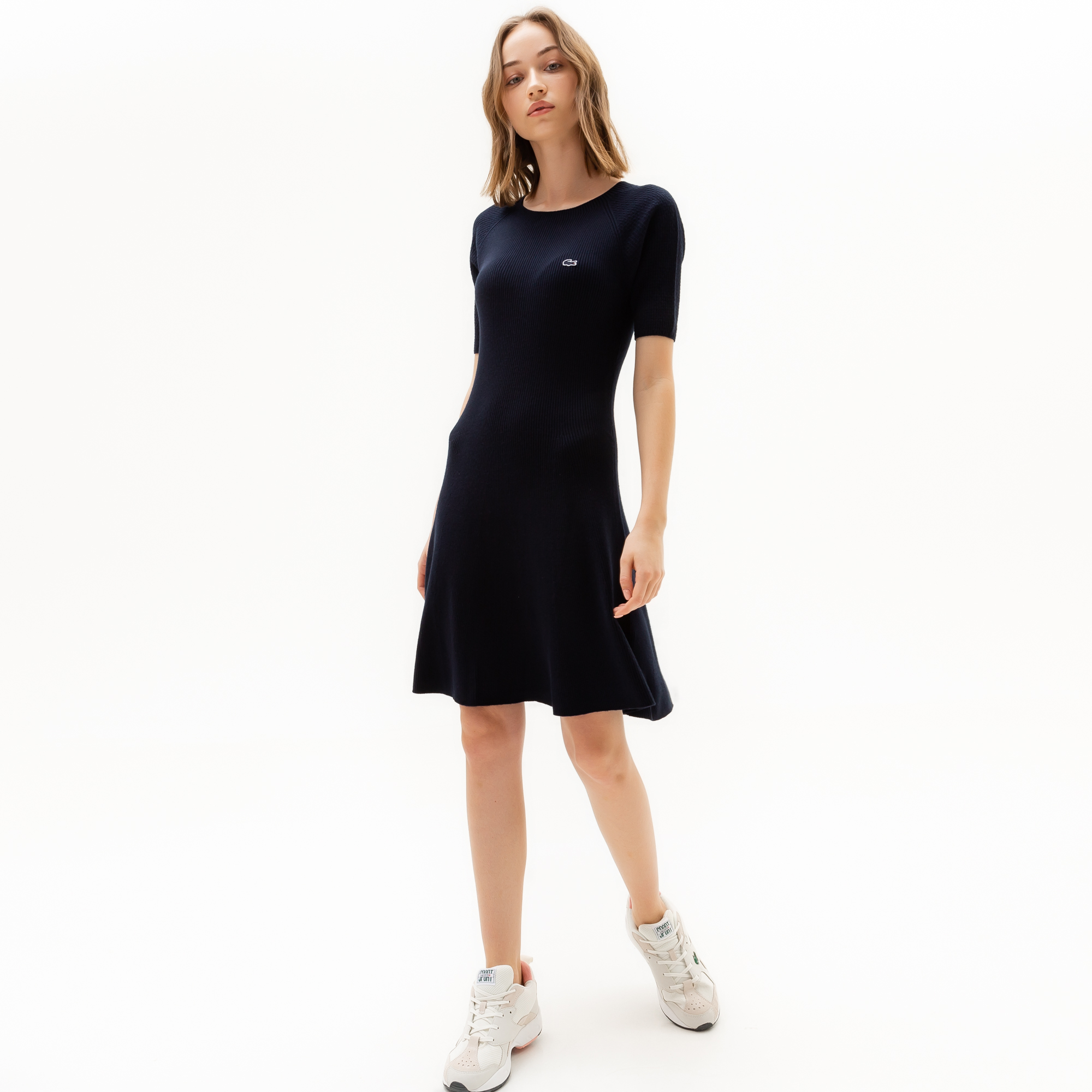 Lacoste | черный Платье Lacoste | Clouty