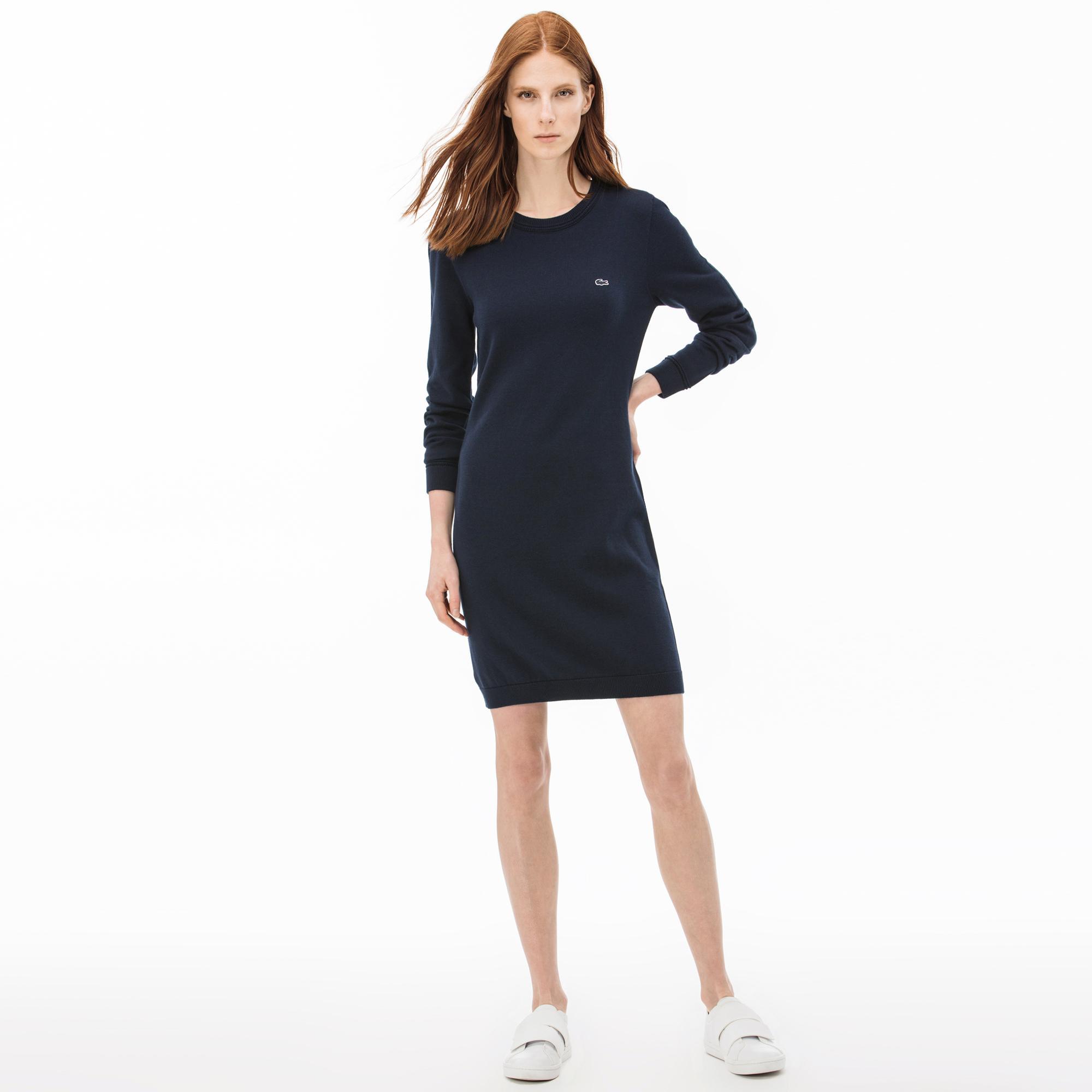 Lacoste   синий Платье Lacoste   Clouty