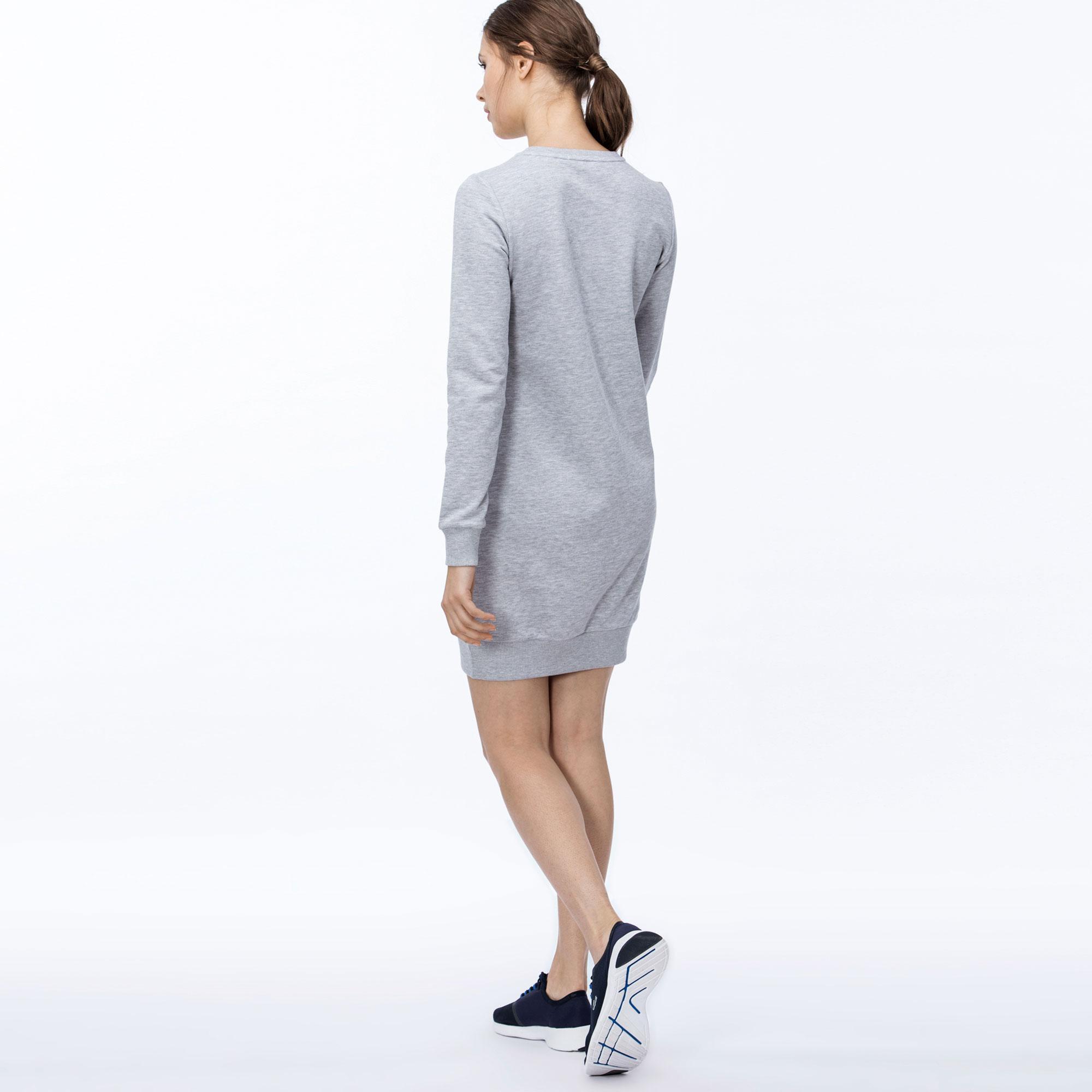 Lacoste   серый Платье Lacoste   Clouty