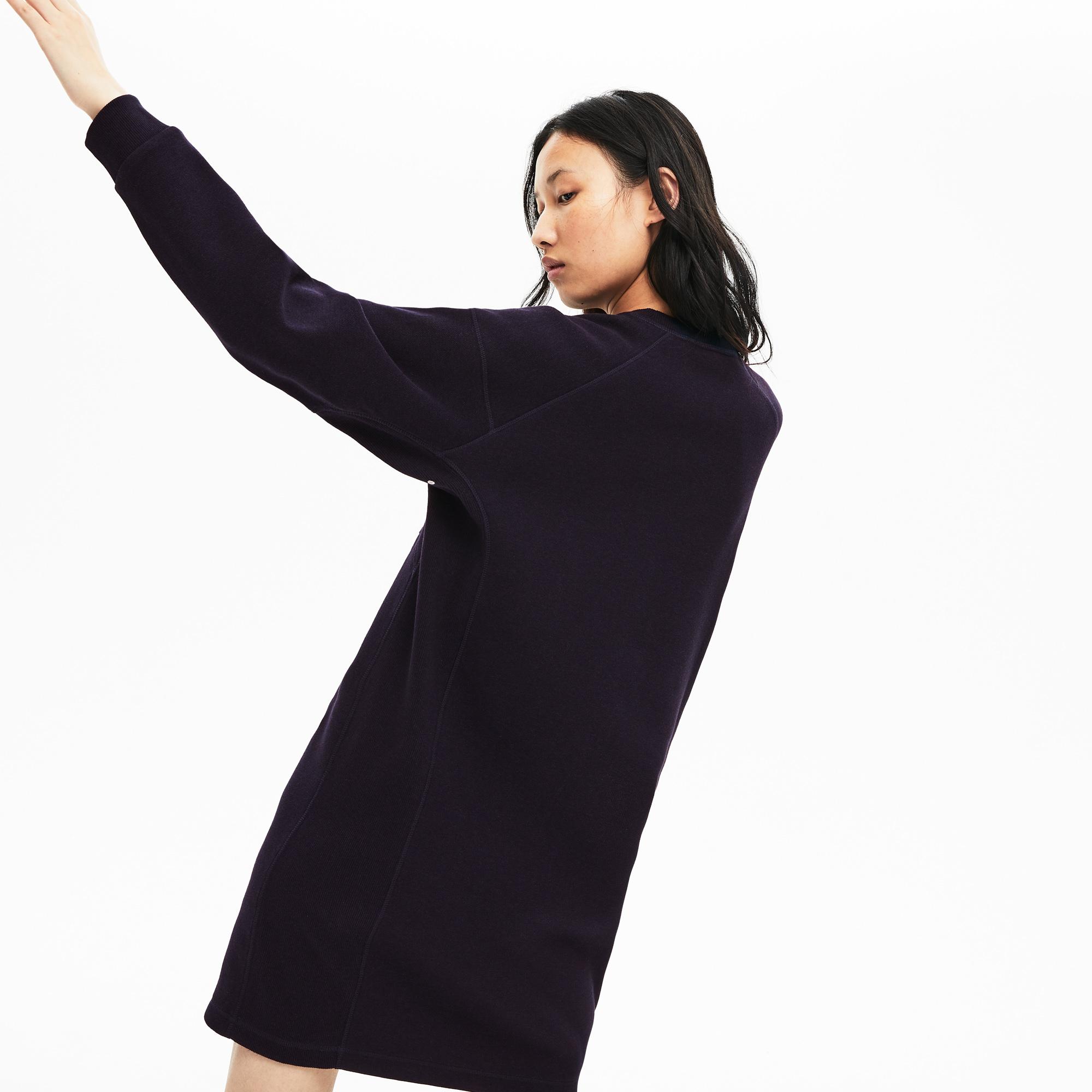 Lacoste | темно-синий Платье Lacoste | Clouty