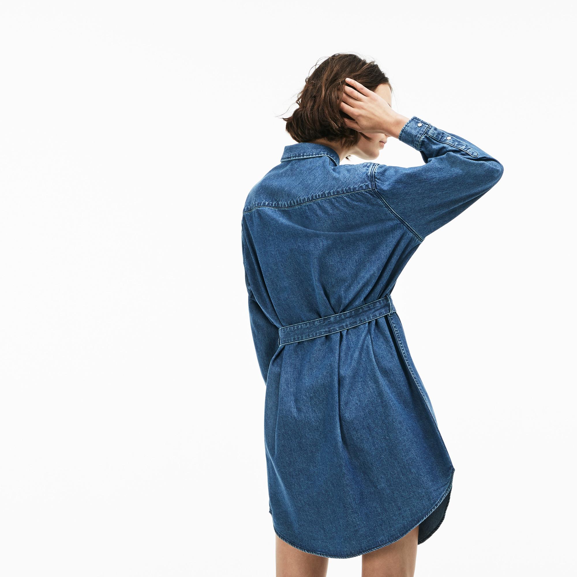 Lacoste | синий Платье Lacoste | Clouty