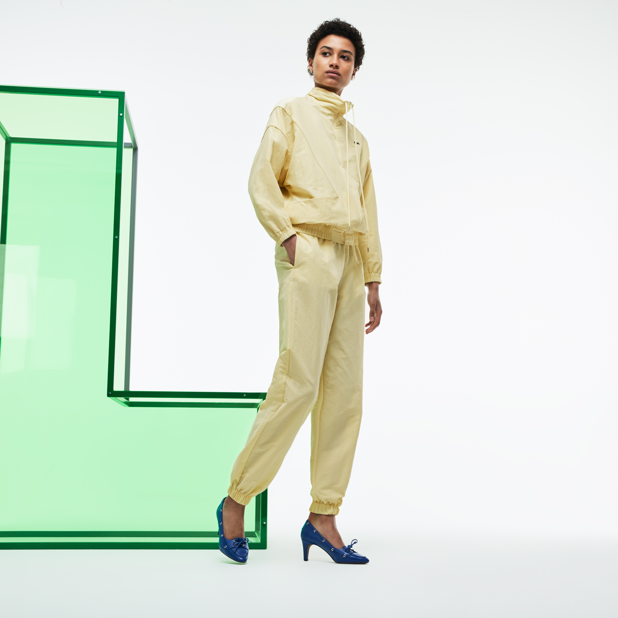 Lacoste | желтый Брюки Lacoste | Clouty