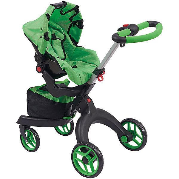 Buggy Boom | Коляска для кукол Buggy Boom Aurora, ярко-зеленая | Clouty