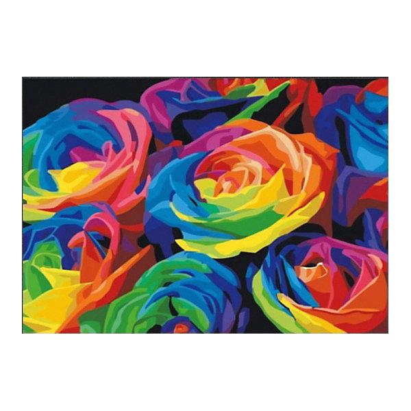 "Color KIT | Алмазная мозаика Color KIT ""Розы"", 40х50 см | Clouty"