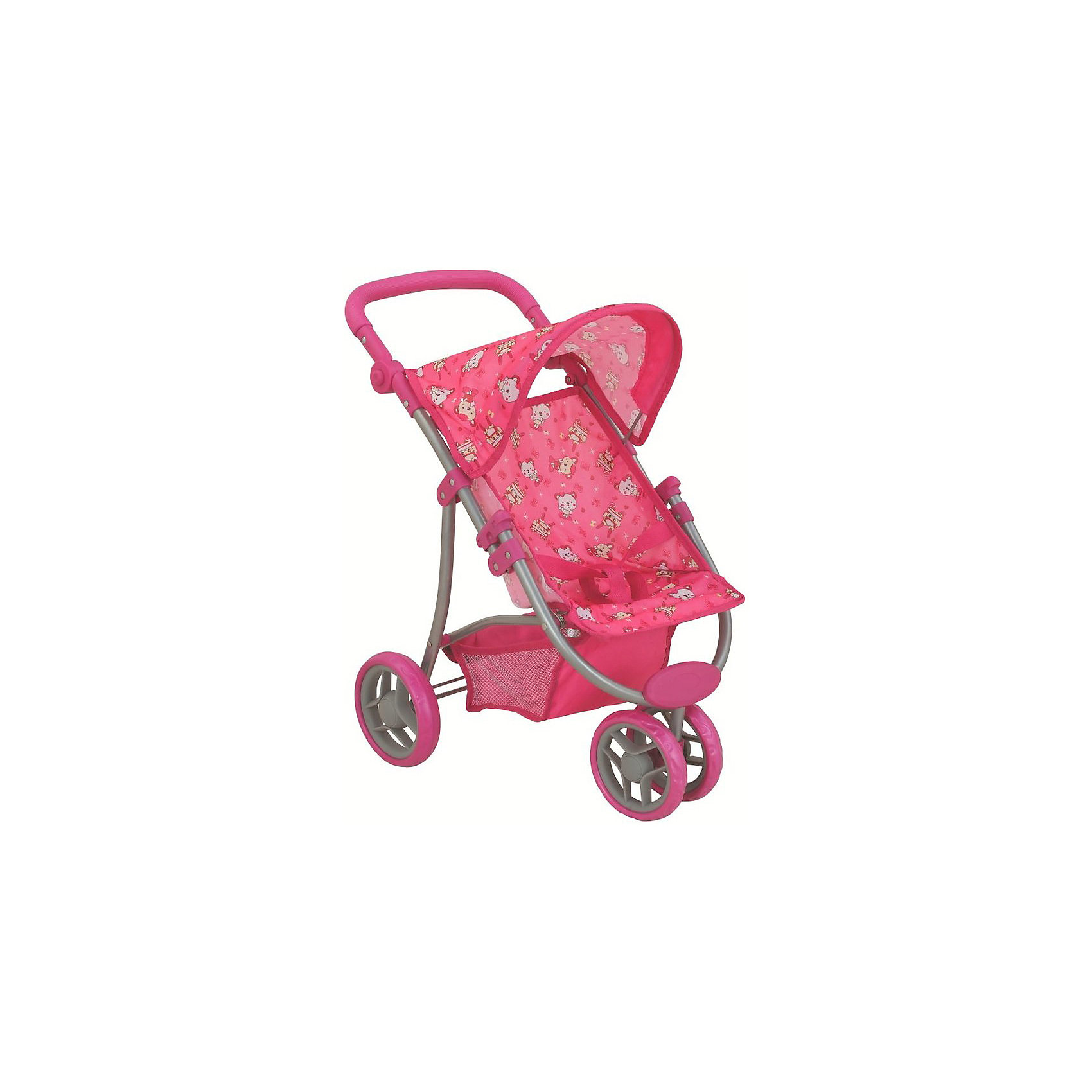 Buggy Boom | Коляска для кукол Buggy Boom Nadin, розовая | Clouty